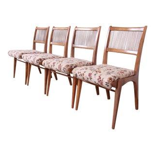 John Van Koert for Drexel Profile Mid-Century Modern Dining Chairs, Set of Four For Sale