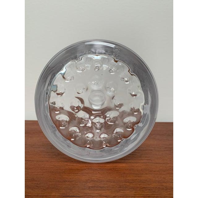 1960s 1960s Scandinavian Modern Minimalist Glass Decanter by Ronald Stennett Willson for Wedgwood For Sale - Image 5 of 12