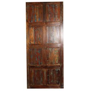 Antique Carved Wooden Door Preview