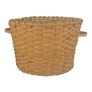 Handmade Split Oak Basket
