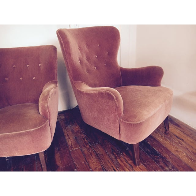 1958 Vintage Theo Ruth for Artifort Mid Century Danish Modern Lounge Chairs - a Pair - Image 6 of 6