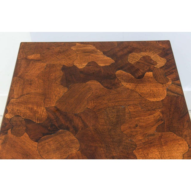 American Modern Inlaid Mixed Wood Table, American of Martinsville For Sale In Miami - Image 6 of 9