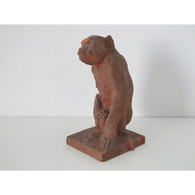 Terracotta Monkey - Image 5 of 7