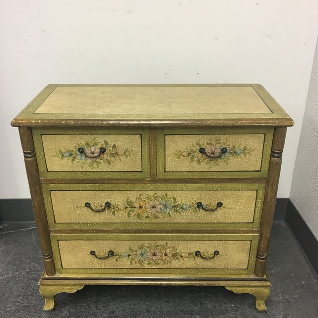 Hand Painted Four Drawer Chest - Image 2 of 10