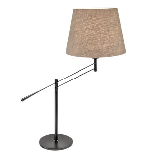 Adjust Black Bronze Table Light For Sale