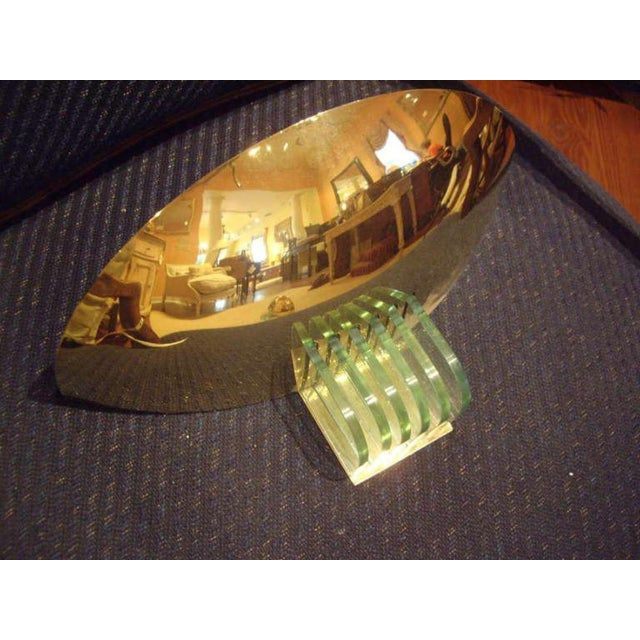 Mid-Century Modern Mid-Century French Brass Wall Sconces - a Pair For Sale - Image 3 of 9