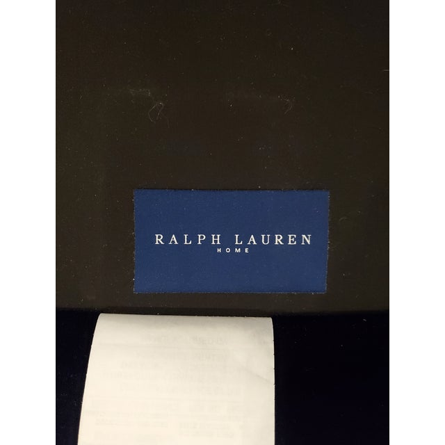 2010s Ralph Lauren Tremont Sofa and Pillows For Sale - Image 5 of 6