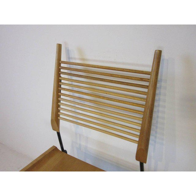 1950s Paul McCobb Shovel Seat Dining Chairs from the Planner Group - set of 4 For Sale - Image 5 of 8