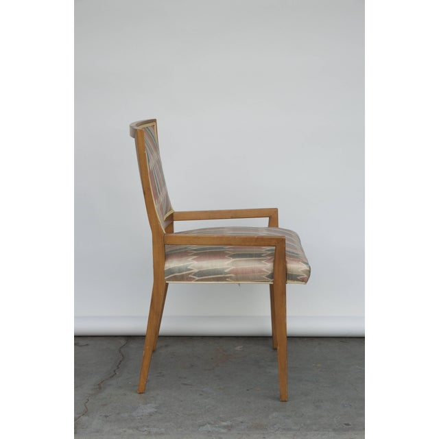 Set of Six Elegant Mid-Century Modern Armchairs and Chairs For Sale In Los Angeles - Image 6 of 9