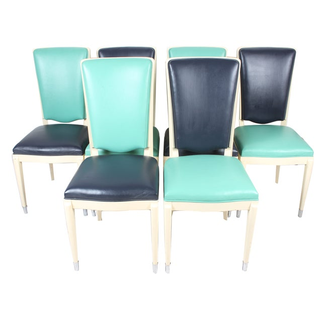 Contemporary Italian Design Chairs - Set of 6 - Image 1 of 3