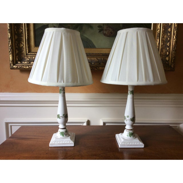 Vintage Ceramic Lamps - A Pair - Image 6 of 6