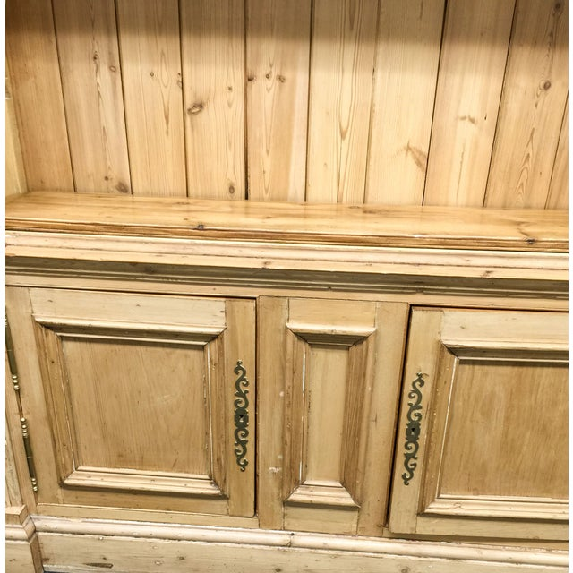 Antique French Pine Bookcase - Image 5 of 6