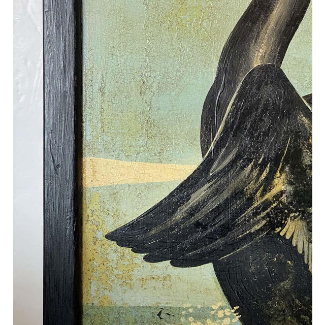 """Vintage English Pub Sign, """"The Black Swan"""" For Sale In Austin - Image 6 of 13"""
