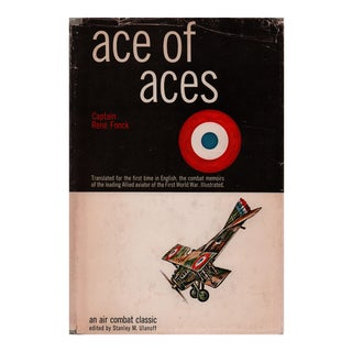 "1967 ""Ace of Aces"" Collectible Book For Sale"