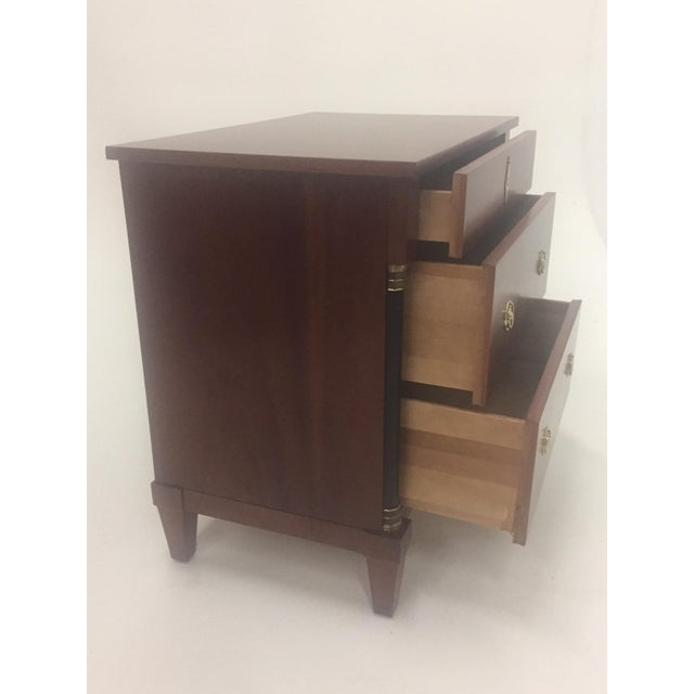 Empire Style Small Chest of Drawers Commode For Sale - Image 4 of 12