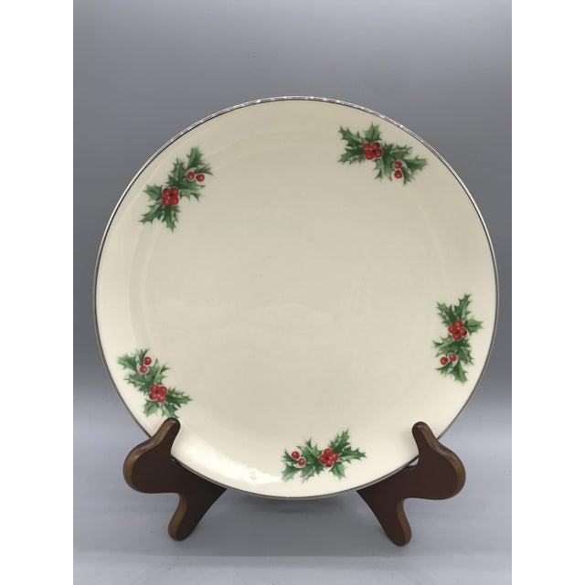 triomphe chinas christmas dinner plates each plate measures 105 diameter each plate has 5 sets