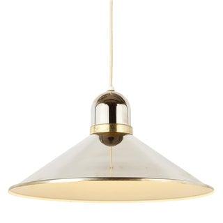 Vintage Modern Chrome Pendant Light by Progress Lighting For Sale