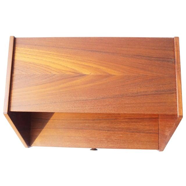 Danish Modern Teak Side Table - Image 6 of 8