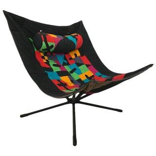 """1980s Vintage Alberto Salviati and Ambrogio Tresoldi for Saporiti """"Miamina"""" Chair For Sale"""