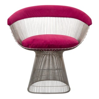 Modern Fuchsia Swanky Spindle Chair For Sale