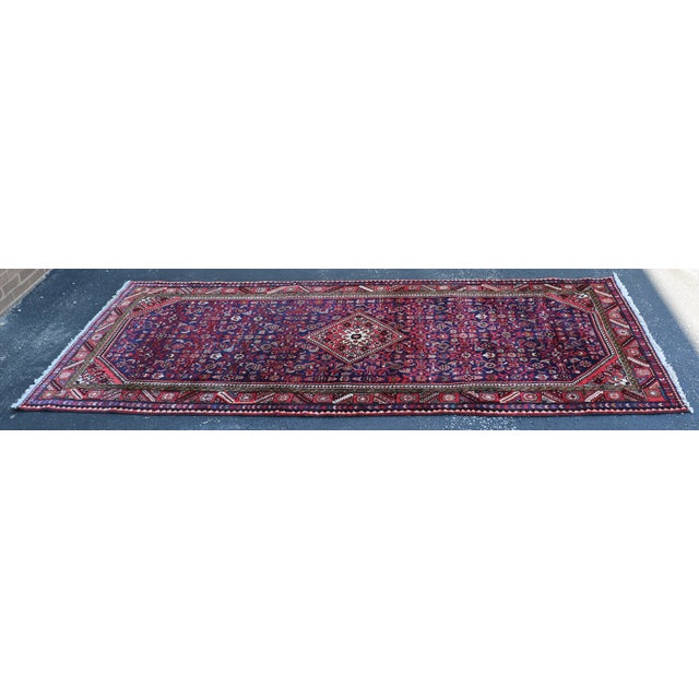 Hand Knotted Persian Wool Area Rug 5′ × 10′ - Image 2 of 5