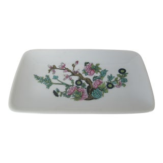 Limoges Porcelain Chinoiserie Catchall For Sale