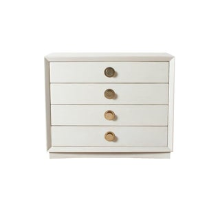 Contemporary Luna Four-Drawer Chest For Sale