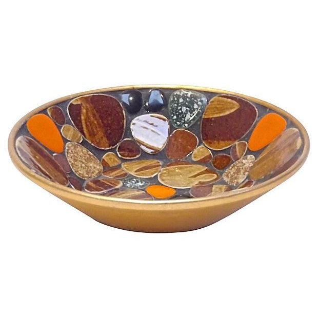 Mid-Century Modern Mosaic Tile Dish - Image 2 of 3