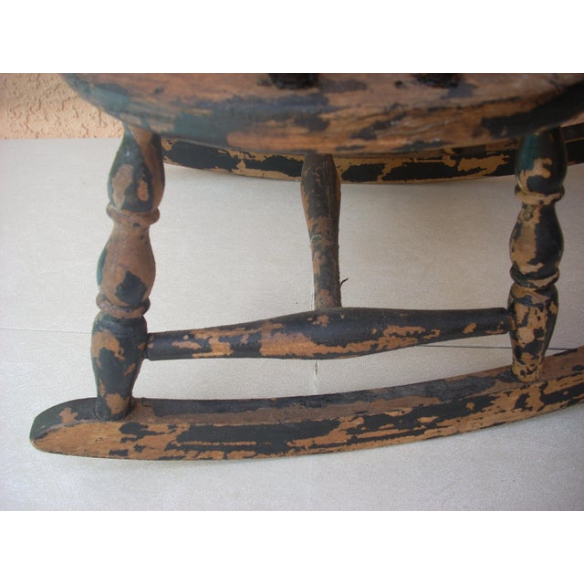 Children's Windsor Child's Rocking Chair For Sale - Image 3 of 10