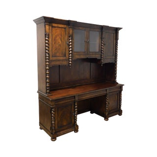 Thomasville Ernest Hemingway Collection Hutch Top Desk For Sale
