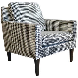 Edward Wormley for Dunbar Houndstooth Lounge Chair