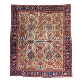 White Ground Mahal Carpet For Sale