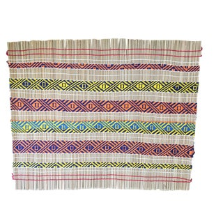 Mehinako Xingu Manioc Mat Amazon Brazil For Sale