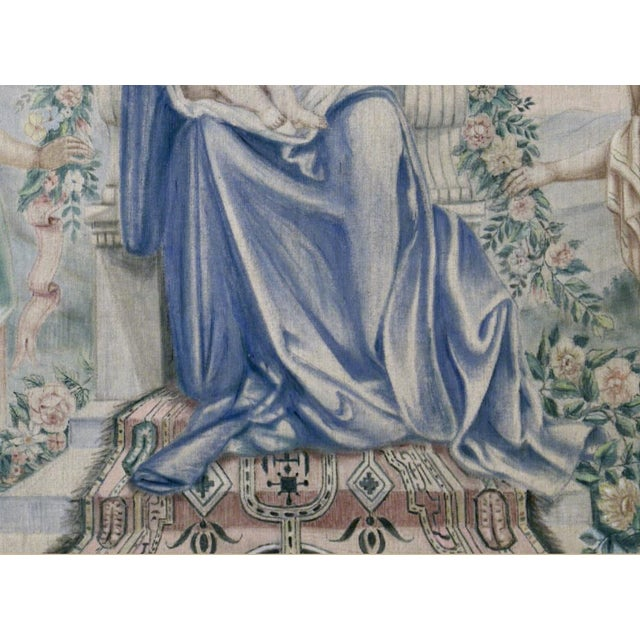 Antique Italian Sucre De Herb Tapestry For Sale In Dallas - Image 6 of 9