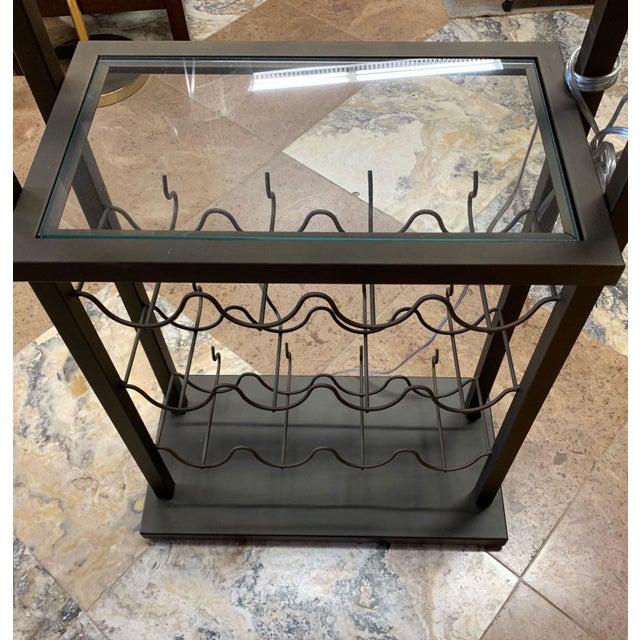 2010s Van Teal Bacchus Wine Rack Floor Lamp For Sale - Image 5 of 9