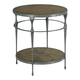 Monte Rio Round Lamp Table For Sale