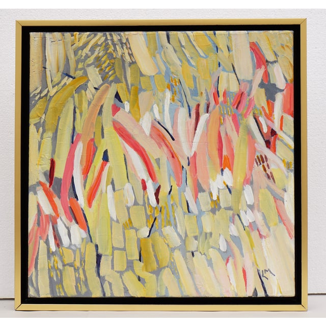 """""""Procession"""" Abstract Painting by Laurie MacMillan - Image 2 of 4"""