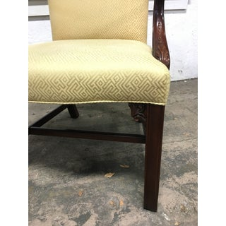 Early 21st Century Vintage Henkel Harris Chippendale Library Chairs - a Pair Preview
