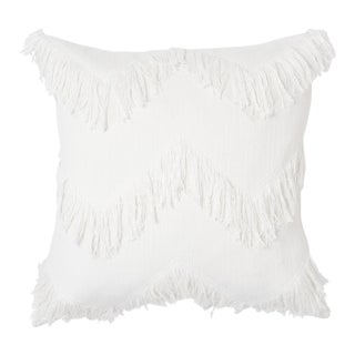 Schumacher Sonora Pillow in Ivory For Sale