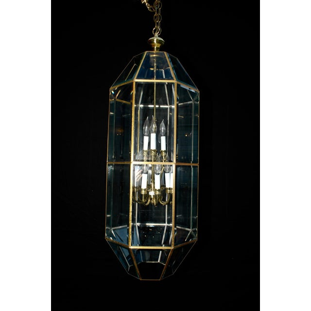 Brass Lantern For Sale - Image 4 of 5