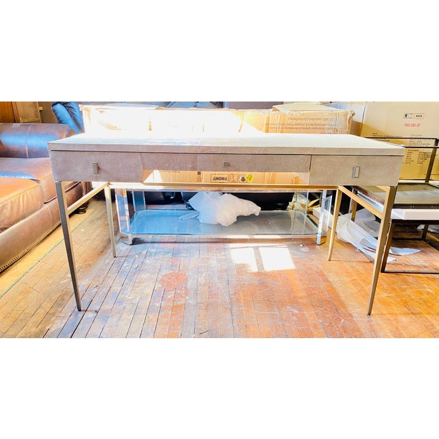 Mitchell Gold + Bob Williams Solange Writing Desk For Sale - Image 9 of 9