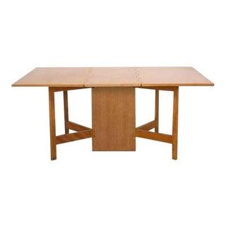 George Nelson Gate-Leg Dining Table Model 4656 by Herman Miller in Oak For Sale