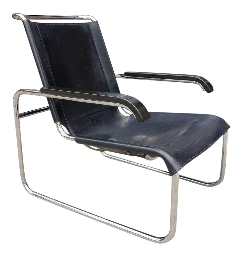 Merveilleux Midcentury Marcel Breuer B35 Lounge Chair For Thonet   Image 1 Of 6