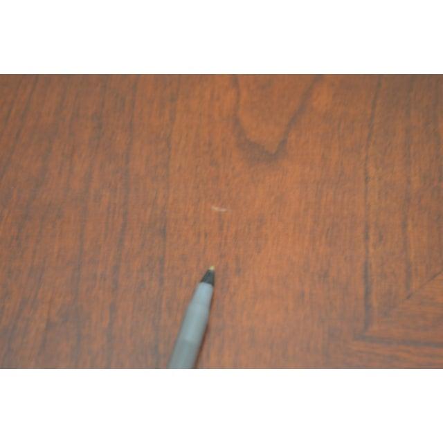 Lexington Cherry Wood Regency Style Rectangular Coffee Table - Image 6 of 10