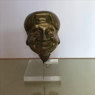 Mid-Century Bronze Buddha Head Preview