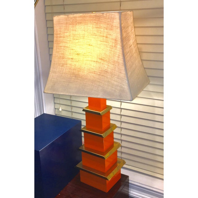 Jonathan Adler Pagoda Table Lamp - Image 2 of 3