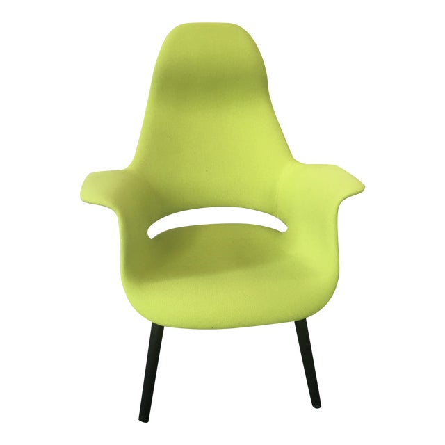 Eero Saarinen and Charles Eames Highback Organic Chair - Image 1 of 3