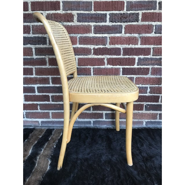"Vintage Josef Hoffmann ""Prague"" Chairs- Set of 4 For Sale In Raleigh - Image 6 of 9"