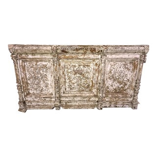 19th Century Decorative Architectural Paneling - 3 Pieces For Sale