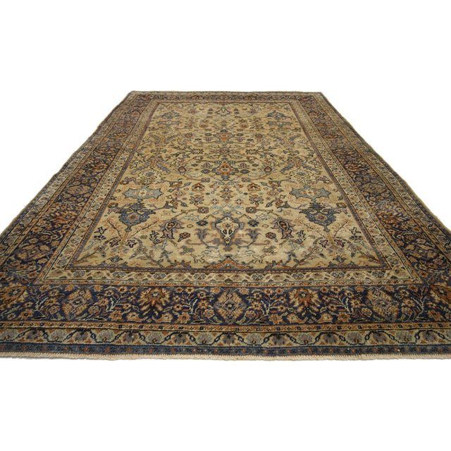 Traditional Antique Persian Sultanabad Rug - 06'04 X 09'10 For Sale - Image 3 of 6